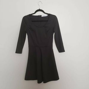 Just Fab NWOT Little Black Dress with Sleeves